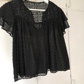Bluse fra Zara, som kan bindes foran