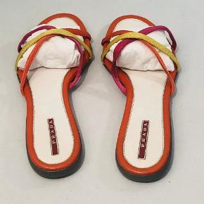 Vtg Prada Sandaler i meget god stand