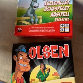 Æsel og Olsen Fremstår som nye, med spilleregler  Pris pr spil