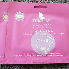 Nye og ubrugte masker fra Miqura. Sælges kun samlet for 40kr.
