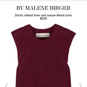 Smuk Malene Birger strik tunika Str s, men fitter også m  Den har en lille fejl, som ses på sidste billede, ellers fejler den intet :) Np 1600kr Mp 250kr fast pris
