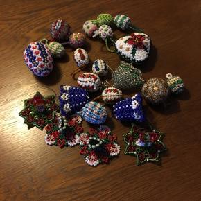 Meget gammel hjemmelavet perler