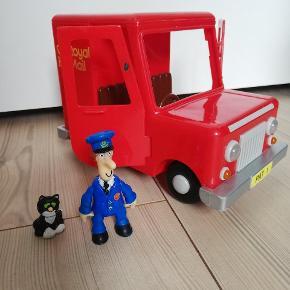 Postmand Per, Emil og bil.