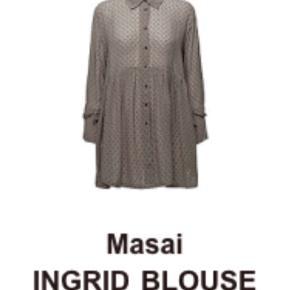 Super populære Ingrid Blouse Fitted Long Slv Masai Langærmede i til Damer, som både kan bæres til fest og hverdag😊😀