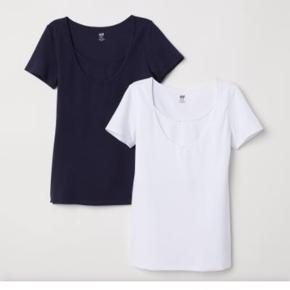 Lækre amme t-shirt i hvid og sort