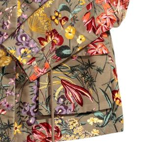 Trend blomstret parka - jakke med blomster - premium quality - cargo jakke