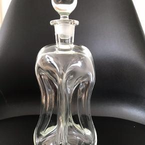 Holmegaard klukflaske 28 cm høj pris 150kr