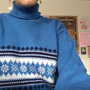 Mega nice retro sweater, købt brugt, men har selv kun brugt den et par gange:)