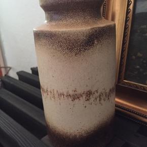 Keramik vase fra West Germany.