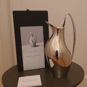 Georg Jensen, Henning Koppel Masterpiece kande, 1.2 liter, rustfrit stål, ny, aldrig brugt, perfekt stand, (værdi 1.999)