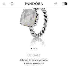 Pandora sølvring