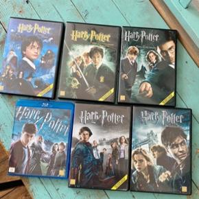 Harry potter film   10kr stykket -fast pris.  -køb 4 annoncer og den billigste er gratis - kan afhentes på Mimersgade 111 - sender gerne hvis du betaler Porto - mødes ikke andre steder  - bytter ikke