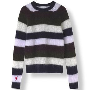 Ganni Cordelia pullover sælges. Passes bedst af str. xs. Den er brugt en del, men fremstår stadig i fin stand.