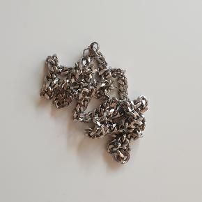 Ægte stål lænke kæde 60cm Kun prøvet på