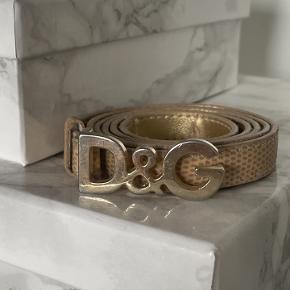 Dolce & Gabbana bælte