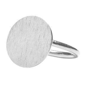 ring Farve: Sølv Oprindelig købspris: 400 kr.
