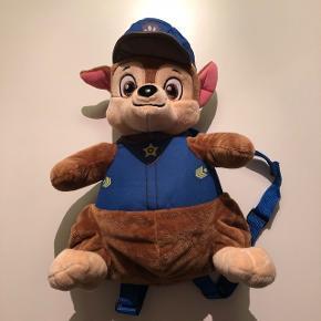 Paw Patrol Chase rygsæk-bamse Er som ny