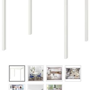 Melltorp spisebord til 4 pers fra Ikea. Bordet har været samlet og stået fremme ca en uge herefter har det stået på et loft. Kan afhentes i Aalborg midtby.