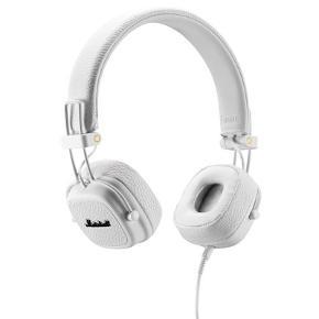 Sælger mine hvide Marshall hørertelefoner. Det er med aux stik, så uden Bluetooth.Har kassen og alt andet nødvendigt :-)