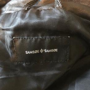 Samsøe & Samsøe Skind- & læderjakke