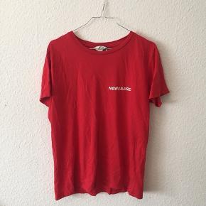 Mads Nørgaard t-shirt med logo. Brugt max 3 gange.