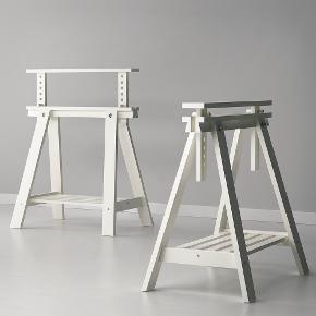 Sælger ét styk IKEA bordben, bordbuk, buk.   Sælges da vi har lavet vores bord mindre og derfor ikke behøver den længere. Har meget få skræmmer som ikke kan ses. Ellers helt som ny.  Kan afhentes i Aarhus C eller i Ajstrup Strand💜