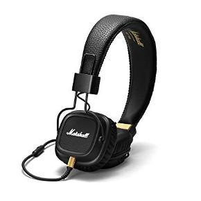 Marshall Major II i sort sælges til en fornuftig pris Prisen i butikker står nu i omkring 550kr Høretelefonerne er intakte og har ingen tegn på slid. Lyden fejler intet.  Jeg er åben for bud 😃
