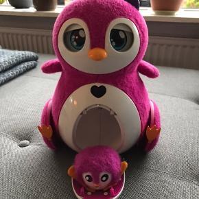 Pingo pingvin m unge ægget til ungen mangler. Skal snart have nye batterier i