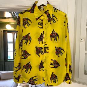 Vintage silkeskjorte