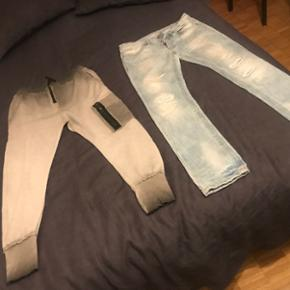 Training + jeans taille M-L
