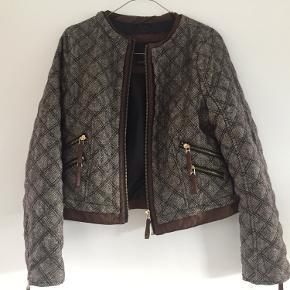 Skøn quiltet jakke