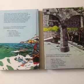 Romanudgave af Hal Fosters berømte tegneserie - gennemillustreret med de originale tegninger. I en serie ud af 5:  Bind 4 - Prins Valiant på eventyr i Middelhavet. Bind 5 - Prins Valiant  farlig rejse.  Hardback udgaver  Prisidé dkk 100,00 - kom gerne med et seriøst bud :-)