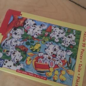 Dalmatiner puslespil  - fast pris -køb 4 annoncer og den billigste er gratis - kan afhentes på Mimersgade 111 - sender gerne hvis du betaler Porto - mødes ikke andre steder - bytter ikke