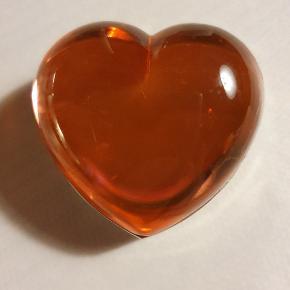Sjælden vintage Anais Anais parfume pusser i hjertefacon
