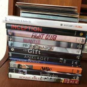Flere dvd'er. Afhentes gratis, alle tages med.