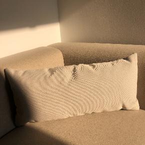 HAY sofa pudebetræk + pude i mint/lysegrå.