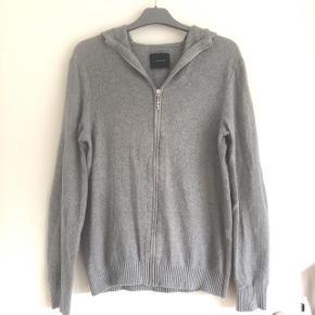 Samsøe & Samsøe grå hoodie str M. 100 % bomuld