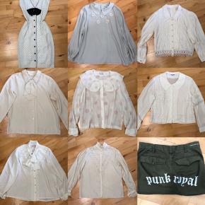 Str. S/M Vintageskjorter pr stk. 100,-  Jeg bytter ikke