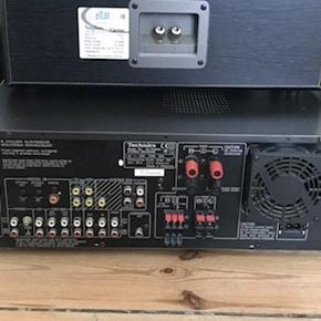 Højtaler: Eltax Forstærker: Technics Pris: 850