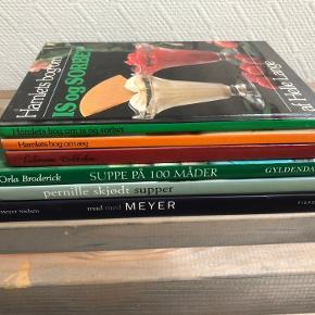 6 madbøger sælges samlet for kun 50 kr 🥳