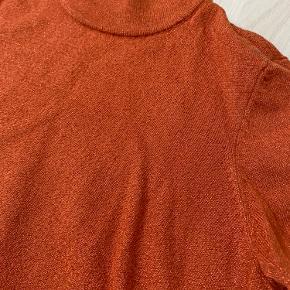 Orange med glimmer