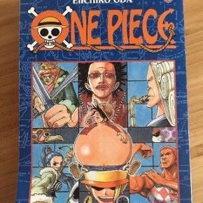 One piece tegneserie  Prisen er fast, men ved køb af 4 annoncer er den billigste gratis. Ingen røg. Kan kun afhentes på min adresse på Mimersgade - ydre Nørrebro eller sendes med gls eller post nord