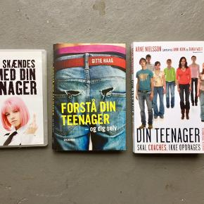 2 bøger om teenagere + en DVD m.bla. Jesper Juul