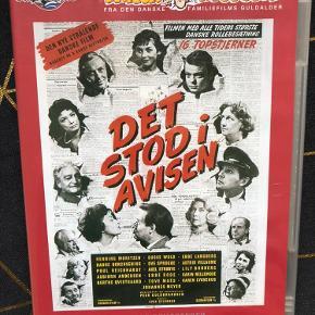 """Filmen """"Det stod i avisen"""" fra 1962.  Afhentes i Hellerup eller sendes med DAO 🌸"""