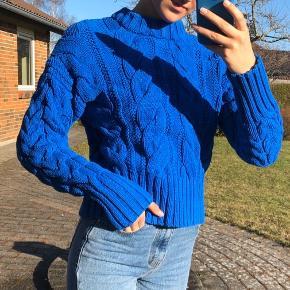 Mega fed strik sweater fra h&m i en s. Byd :)