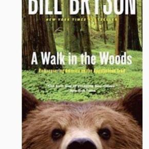 A Wall in the Woods.  Back in America after twenty years in Britain, Bill Bryson decided to reacquaint himself with his native country by walking the 2,100-mile Appalachian Trail, which stretches from Georgia to Maine. The AT offers an astonishing landscape of silent forests and sparkling lakes--and to a writer with the comic genius of Bill Bryson, it also provides endless opportunities to witness the majestic silliness of his fellow human beings. For a start there's the gloriously out-of-shape Stephen Katz, a buddy from Iowa along for the walk. Despite Katz's overwhelming desire to find cozy restaurants, he and Bryson eventually settle into their stride, and while on the trail they meet a bizarre assortment of hilarious characters. But A Walk in the Woods is more than just a laugh-out-loud hike. Bryson's acute eye is a wise witness to this beautiful but fragile trail, and as he tells its fascinating history, he makes a moving plea for the conservation of America's last great wilderness. An adventure, a comedy, and a celebration, A Walk in the Woods has become a modern classic of travel literature.  KØB FLERE AF MINE BØGER OG FÅ RABAT