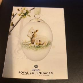 Royal påskeæg i original æske med rede og bånd  Nyt ubrugt æg  2013 LAMMET  Sender + Porto 39 kr