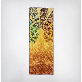 Yoga håndklæde fra Manuka (yogitoes) med chakra print. Til fx hot yoga, bikram eller andet sveddryppende yoga 🔥 Som ny 🙏