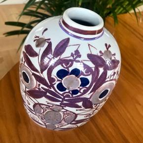 Aluminia Tenera vase, Retro stil Nr 181/2878 Højde 18 cm