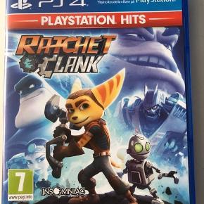 Rachet & Clank - playstation hit.  sælges da jeg ikke får spillet det mere. Ingen ridser i skiven.